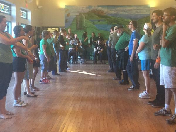Irish Ceili Dance Class with Sharon Judd