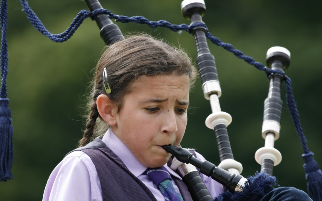 Great Highland Bagpipes with Len Wood