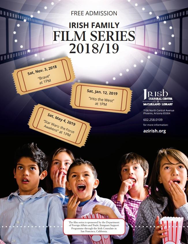 Family Film Series | Irish Cultural Center and McClelland Library