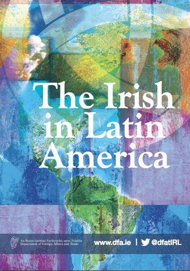 Norman McClelland and Irish President Michael D. Higgins